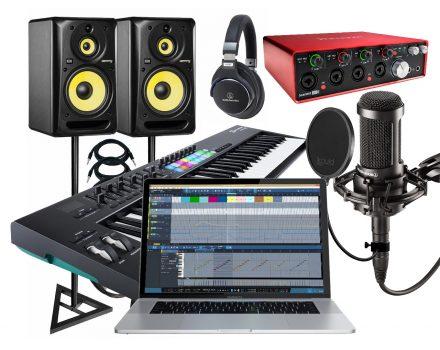 sewa studio musik, digital recording