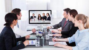sewa alat video conference